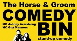 The Horse & Groom Comedy Bin