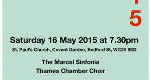 Concerto 2015 - Marchel Sinfonia and The Thames Chamber Choir conductor Andrew Campling