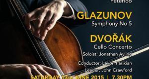 Camden Symphony Orchestra - Summer Concert - Arnold, Glazunov, Dvořák - soloist, Jonathan Ayling.